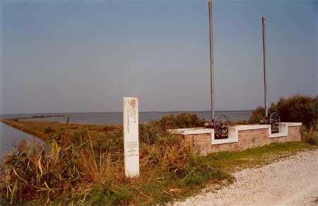 Sito di chiavica Begogni dovà transitarono Garibaldi e Anita