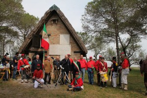 Garibaldi Day 2015: figuranti Garibaldini
