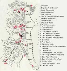 Trafila Garibaldina in Romagna